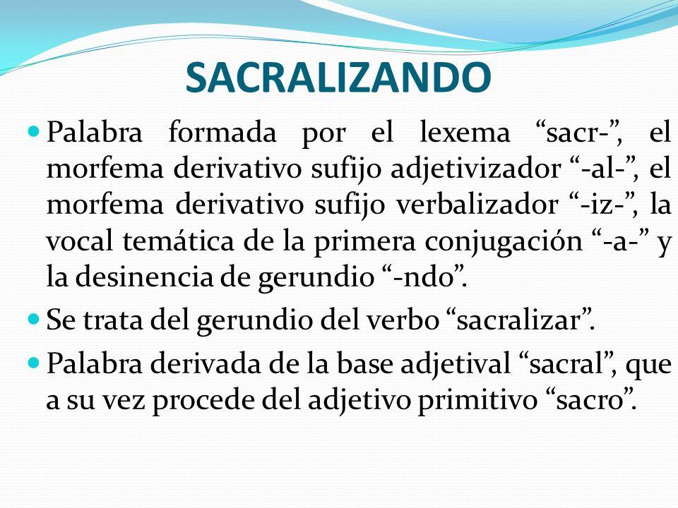 SACRALIZANDO