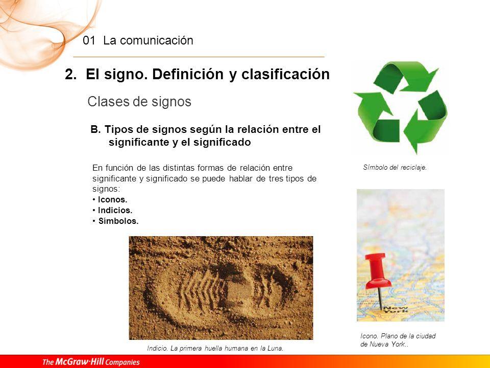 2. El signo. Definición y clasificación