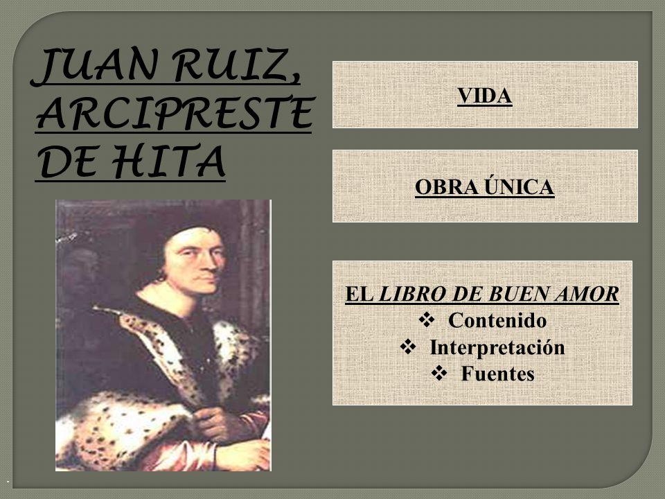 JUAN RUIZ, ARCIPRESTE DE HITA