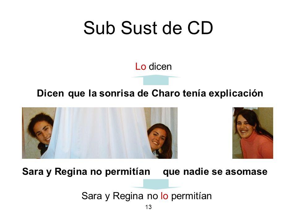 Sub Sust de CD Lo dicen Dicen