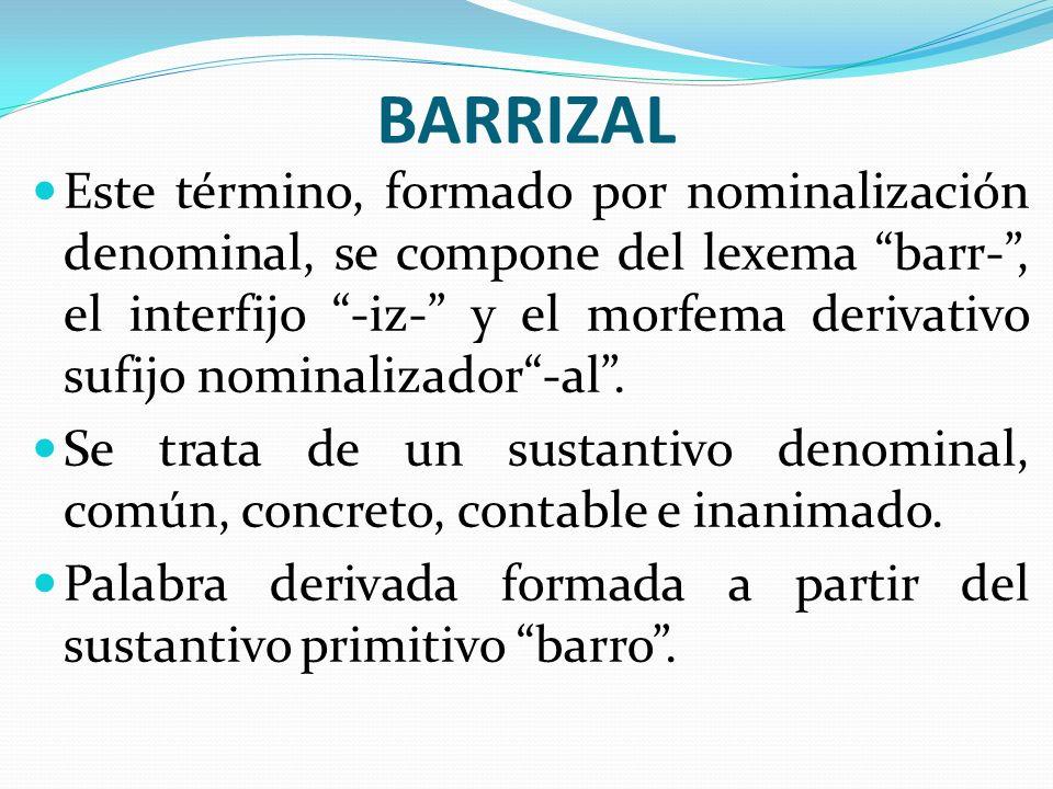 BARRIZAL
