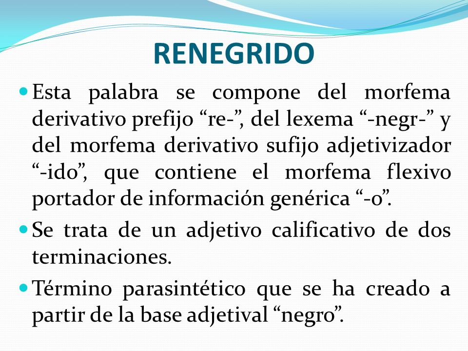 RENEGRIDO