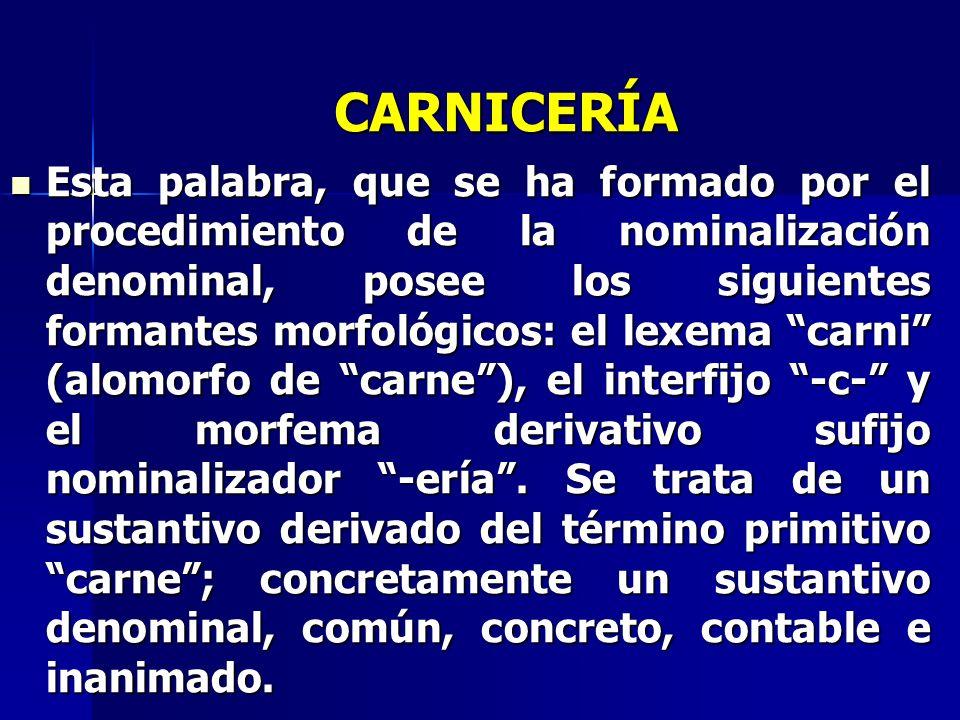 CARNICERÍA