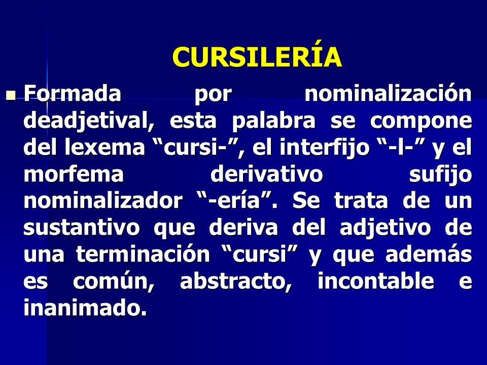 CURSILERÍA
