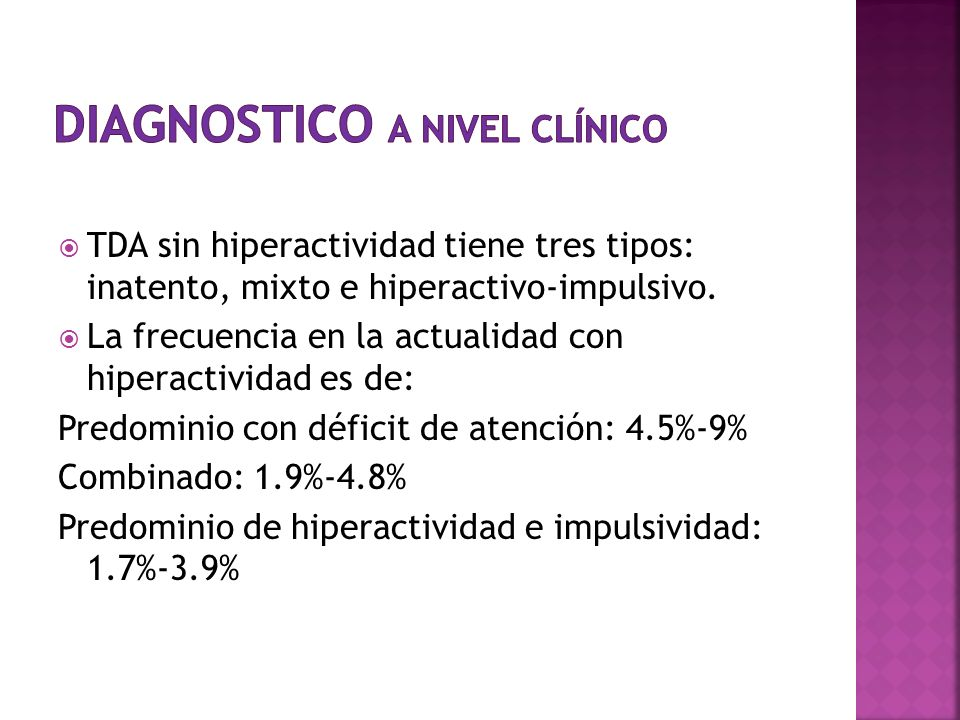 Diagnostico a nivel clínico