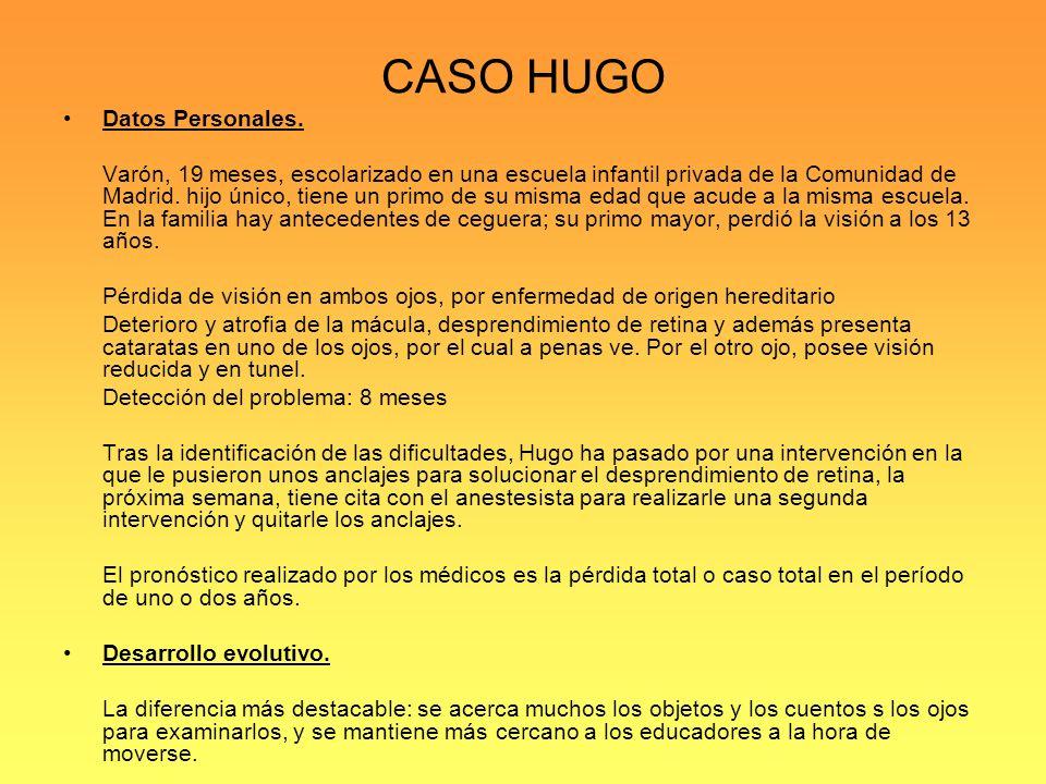 CASO HUGO Datos Personales.