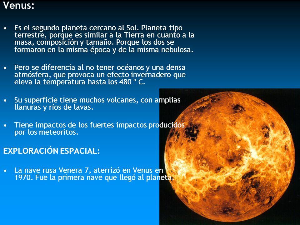 Venus: EXPLORACIÓN ESPACIAL:
