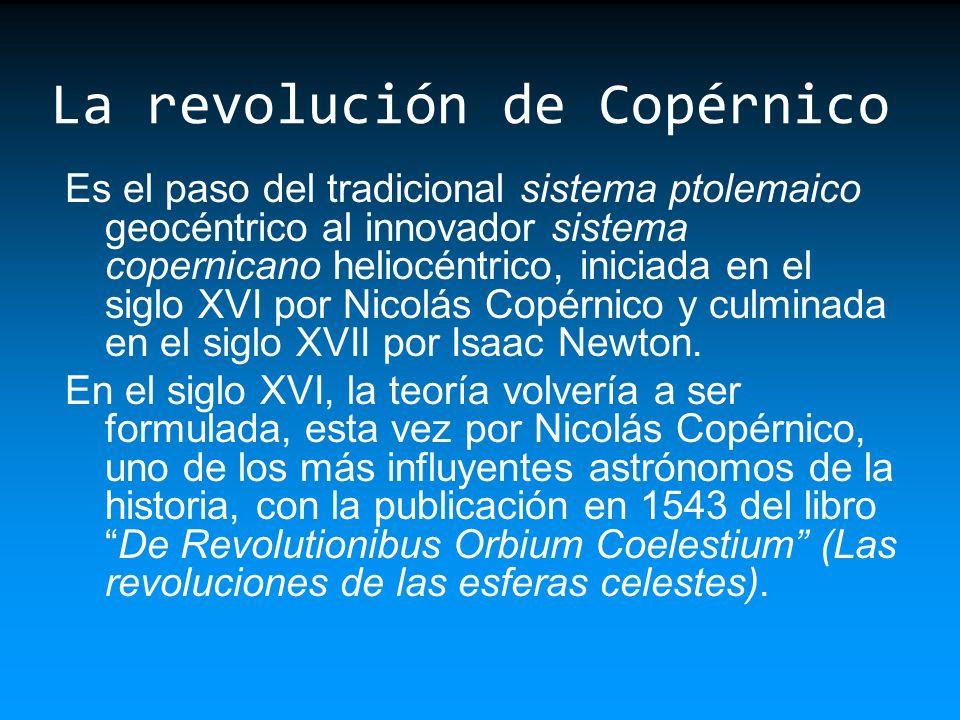 La revolución de Copérnico