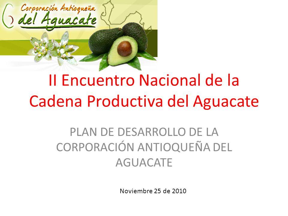 II Encuentro Nacional de la Cadena Productiva del Aguacate
