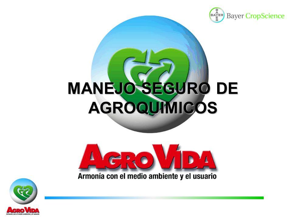 MANEJO SEGURO DE AGROQUIMICOS