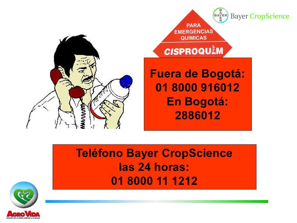 Teléfono Bayer CropScience