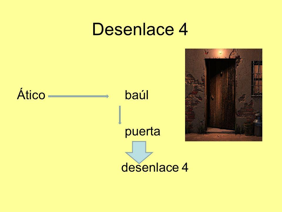 Desenlace 4 Ático baúl puerta desenlace 4