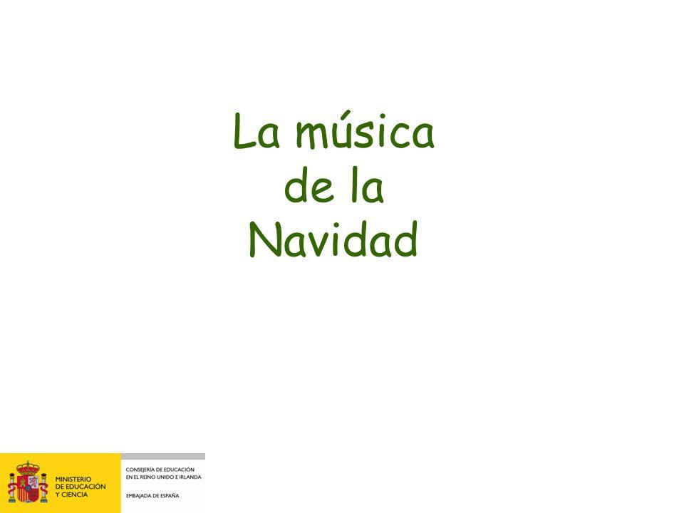 La música de la Navidad