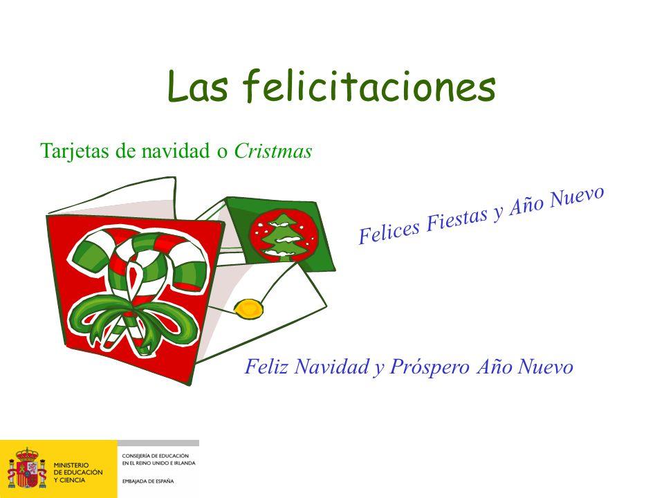 Las felicitaciones Tarjetas de navidad o Cristmas