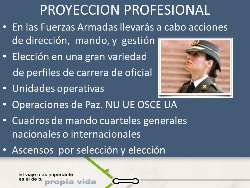 PROYECCION PROFESIONAL
