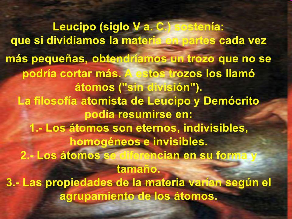 Leucipo (siglo V a.