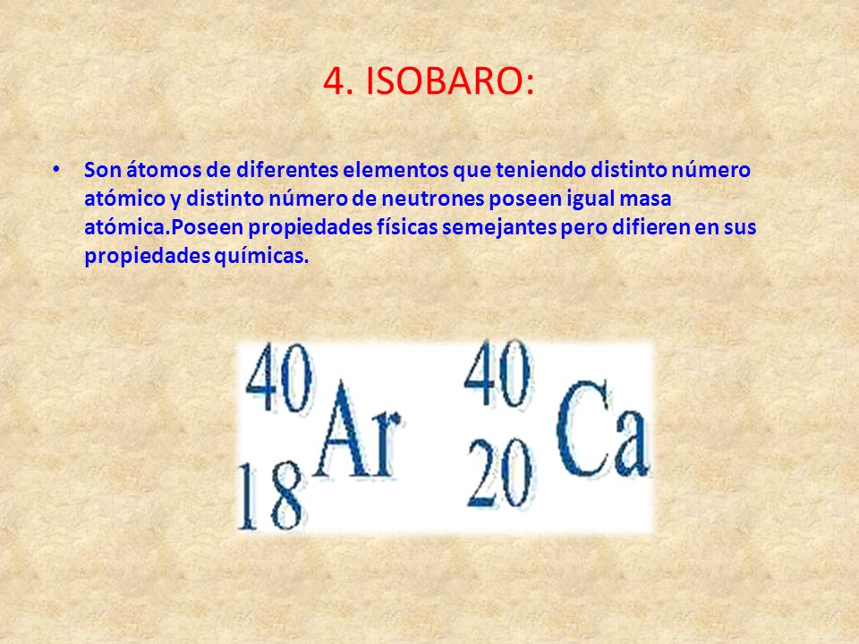 4. ISOBARO: