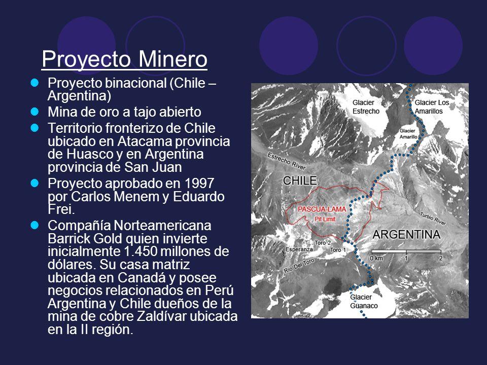 Proyecto Minero Proyecto binacional (Chile – Argentina)