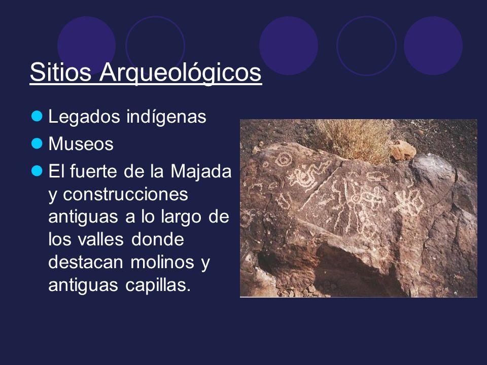Sitios Arqueológicos Legados indígenas Museos