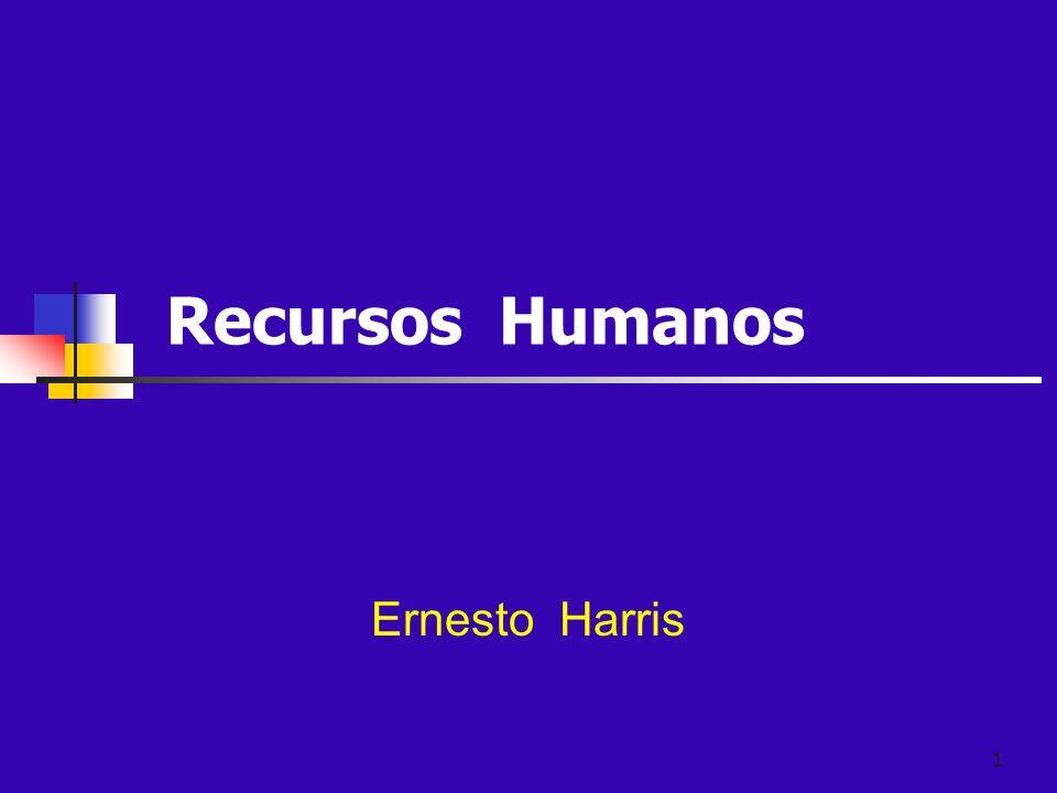 Recursos Humanos Ernesto Harris