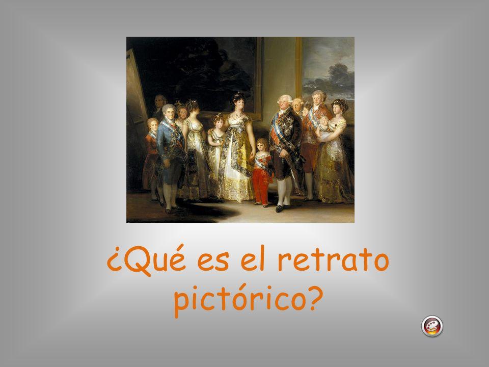 ¿Qué es el retrato pictórico