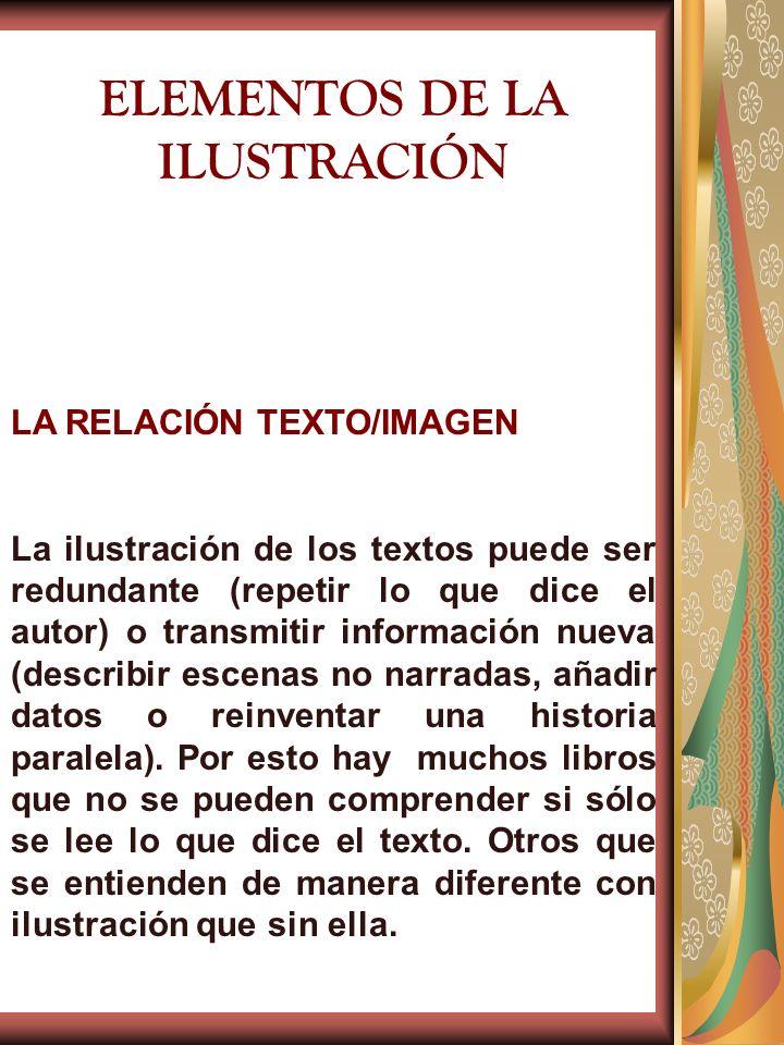 ELEMENTOS DE LA ILUSTRACIÓN