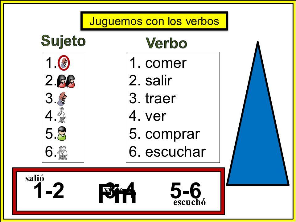 Juguemos con los verbos