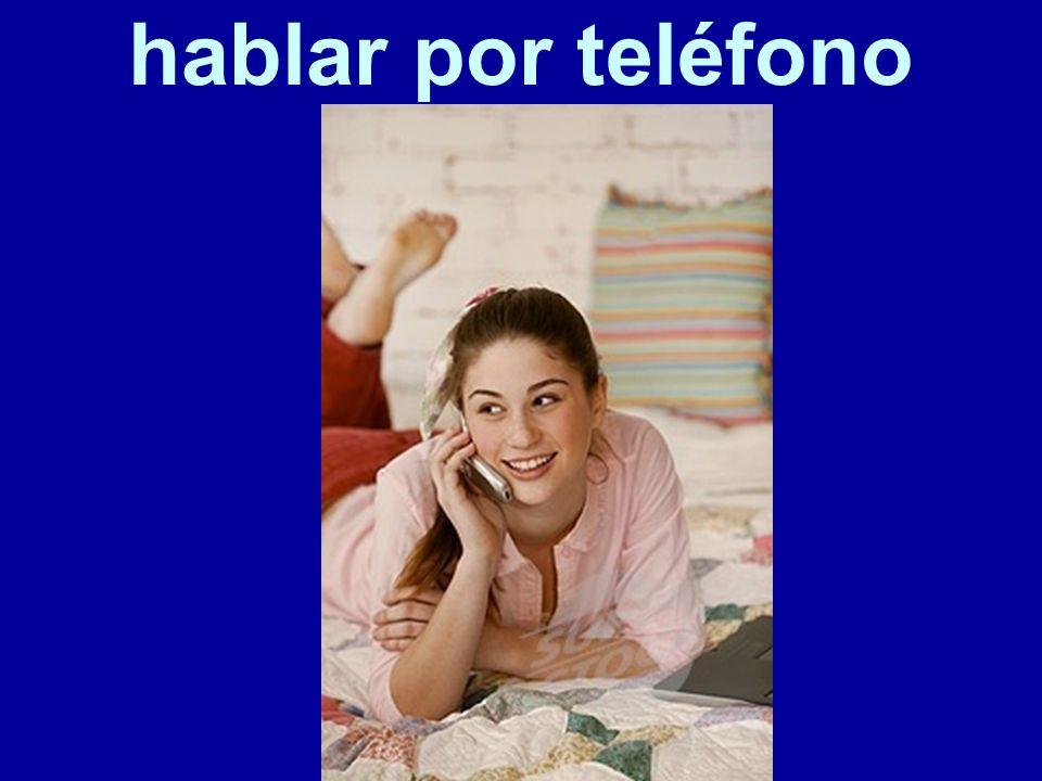 hablar por teléfono 35