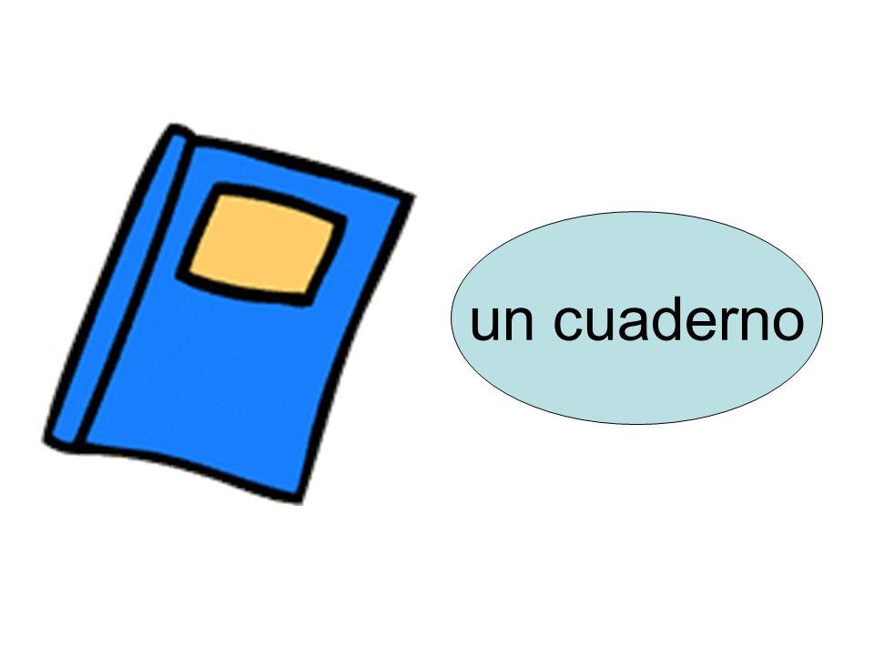 un cuaderno