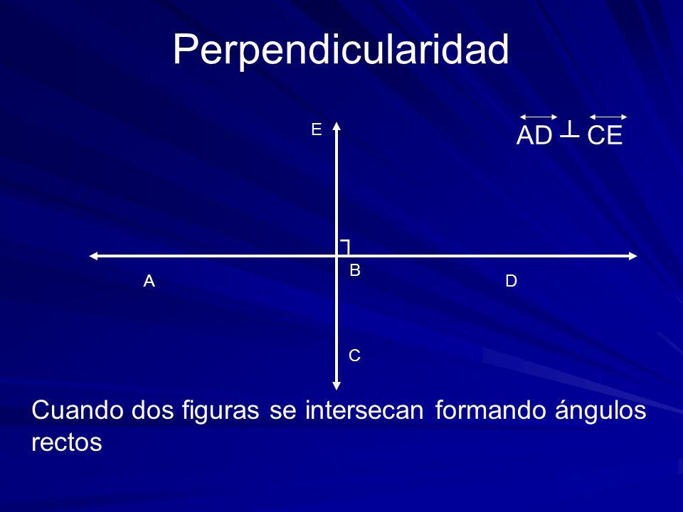 Perpendicularidad AD ┴ CE