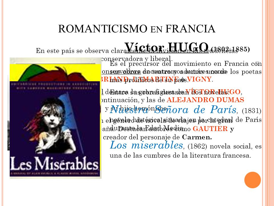 ROMANTICISMO en FRANCIA