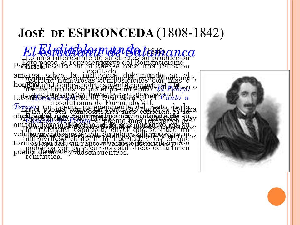 El estudiante de Salamanca (1837)