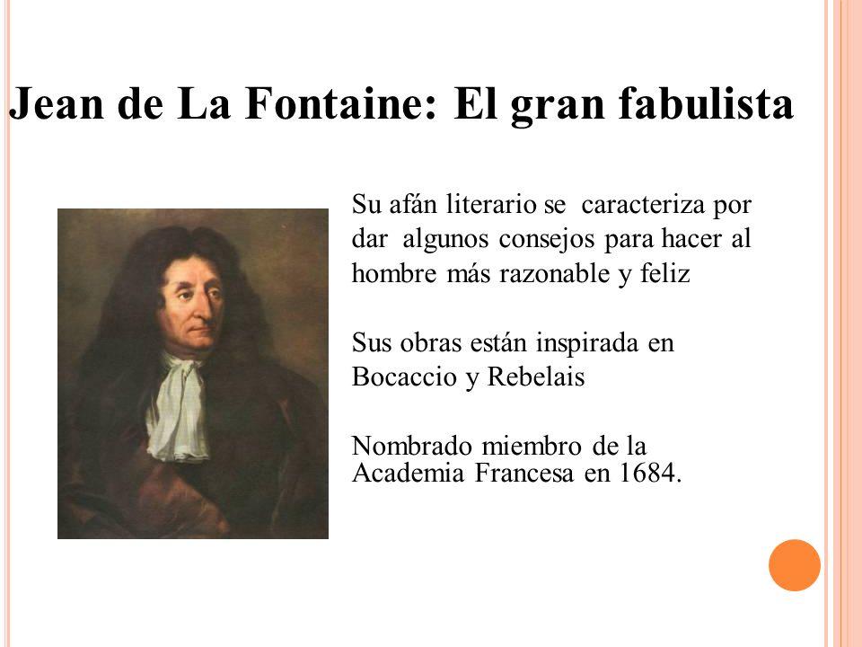 Jean de La Fontaine: El gran fabulista