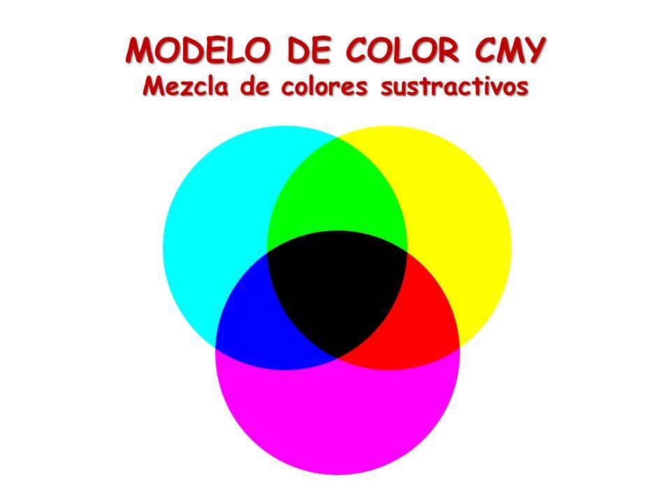 Mezcla de colores sustractivos