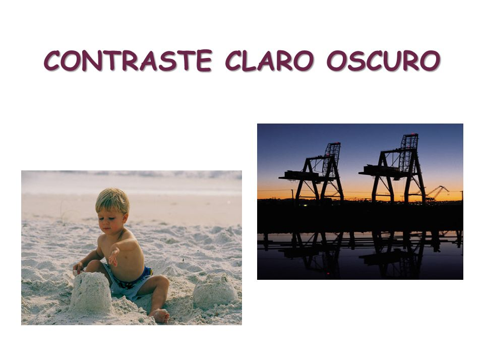 CONTRASTE CLARO OSCURO