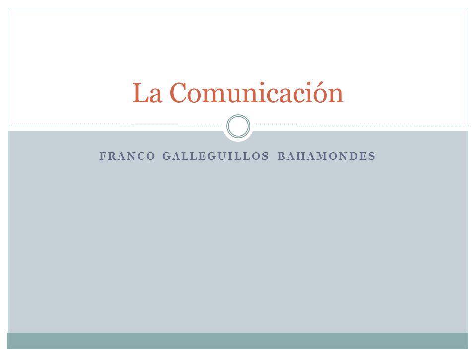 Franco Galleguillos bahamondes