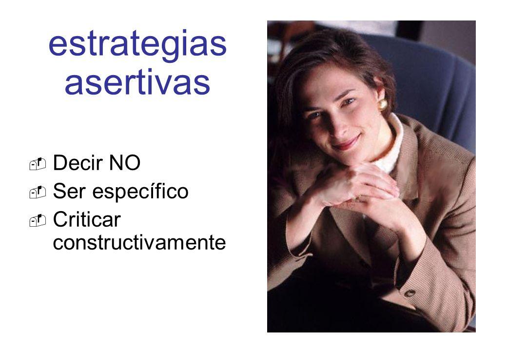 estrategias asertivas