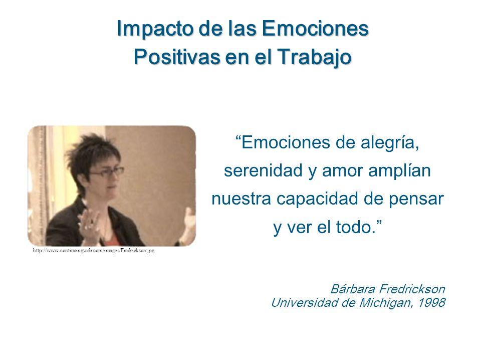 Impacto de las Emociones Positivas en el Trabajo