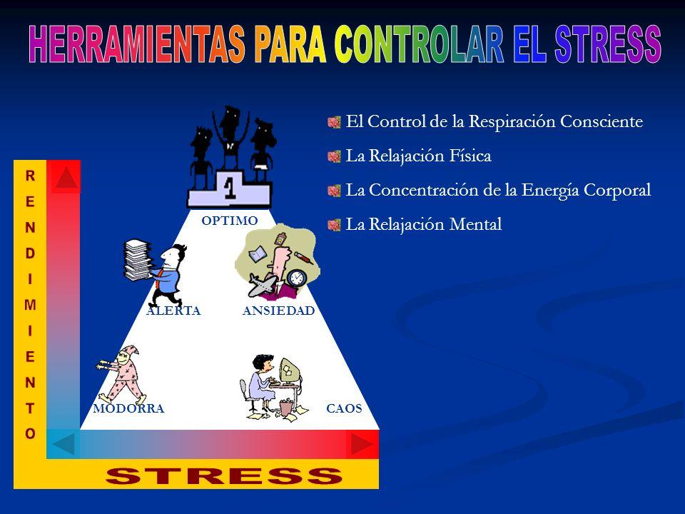 HERRAMIENTAS PARA CONTROLAR EL STRESS