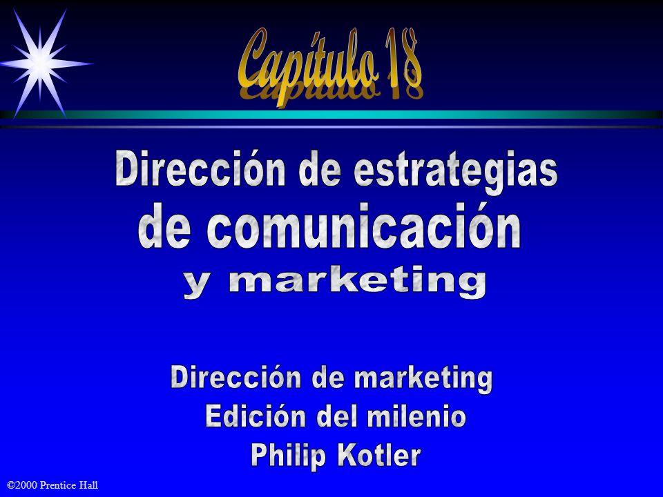 Capítulo 18 Dirección de estrategias de comunicación y marketing