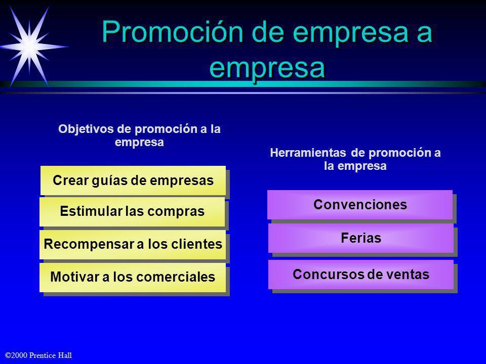 Promoción de empresa a empresa