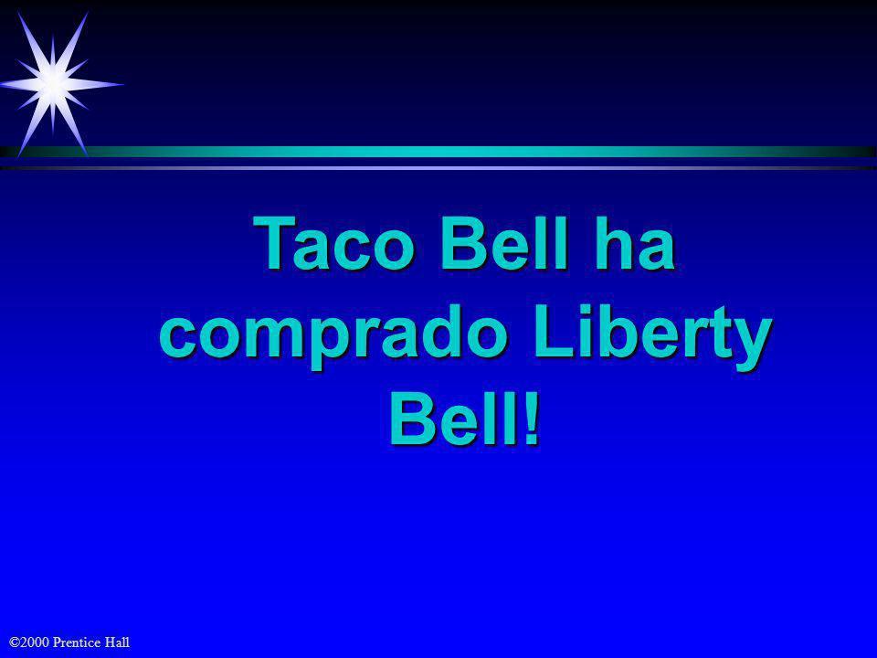 Taco Bell ha comprado Liberty Bell!