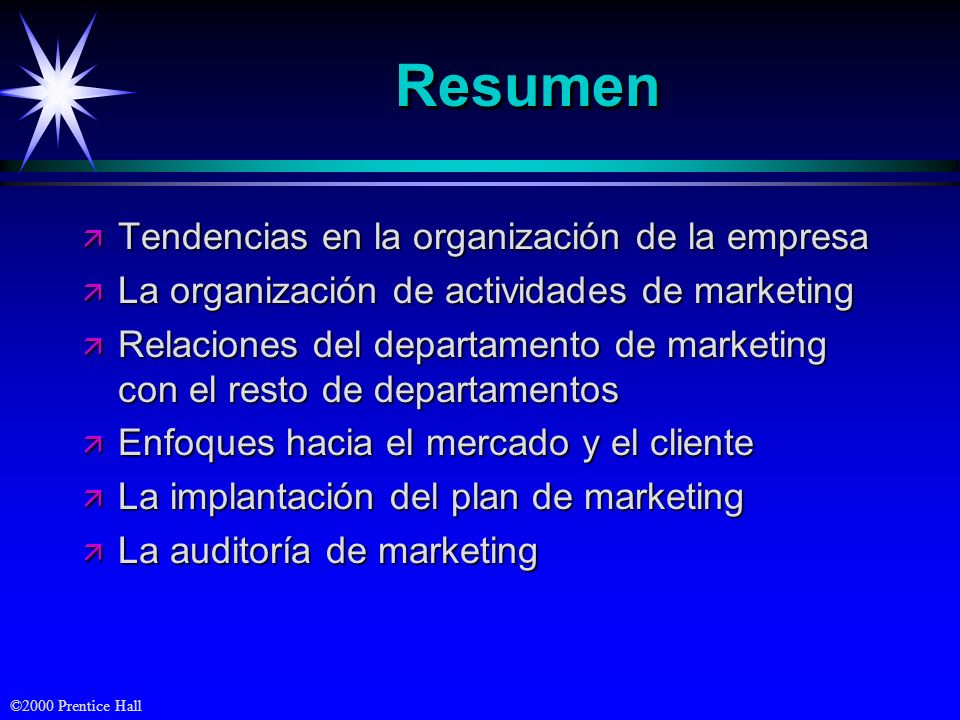 Resumen Tendencias en la organización de la empresa