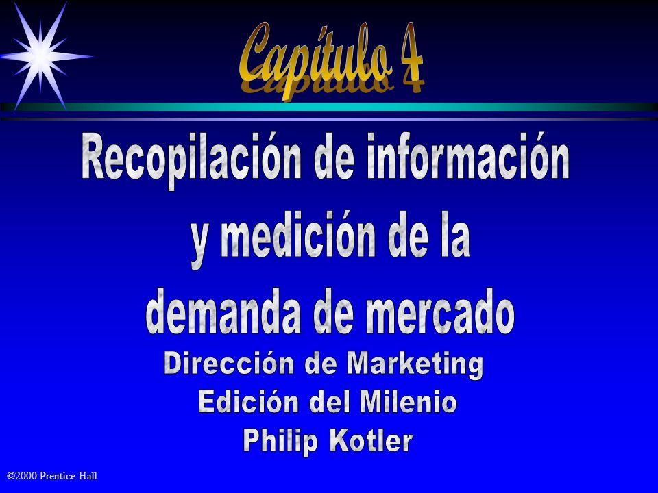 Capítulo 4 Recopilación de información y medición de la