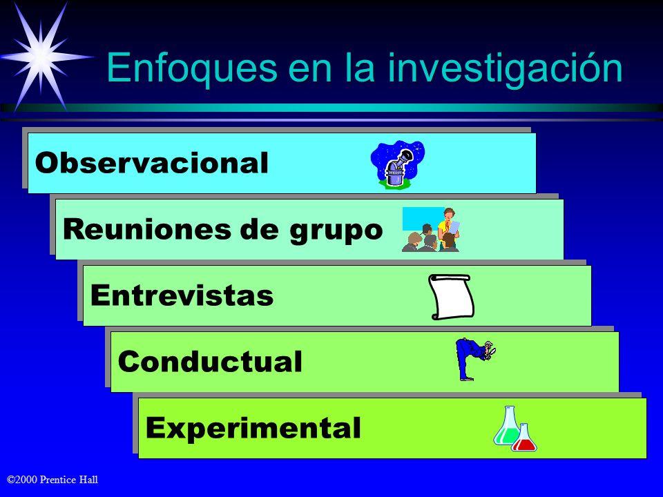 Enfoques en la investigación