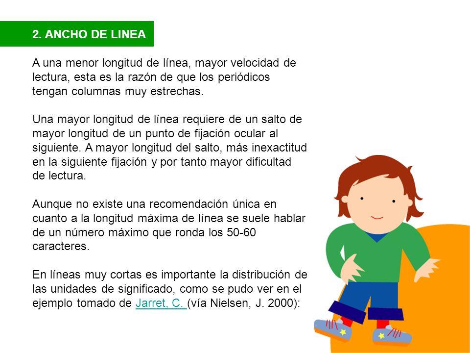 2. ANCHO DE LINEA