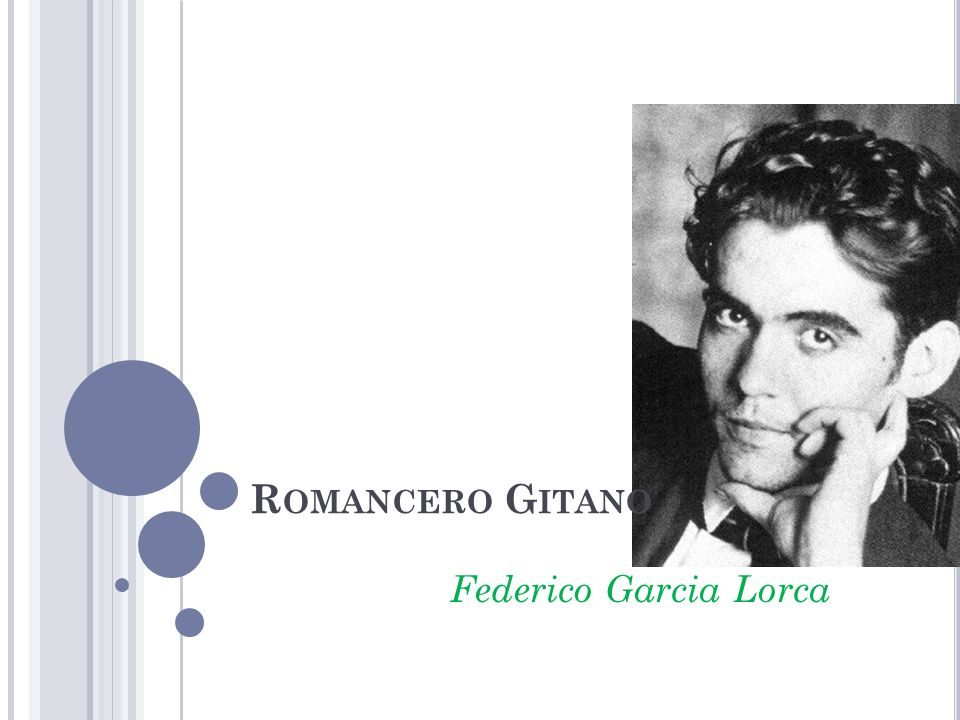Romancero Gitano Federico Garcia Lorca