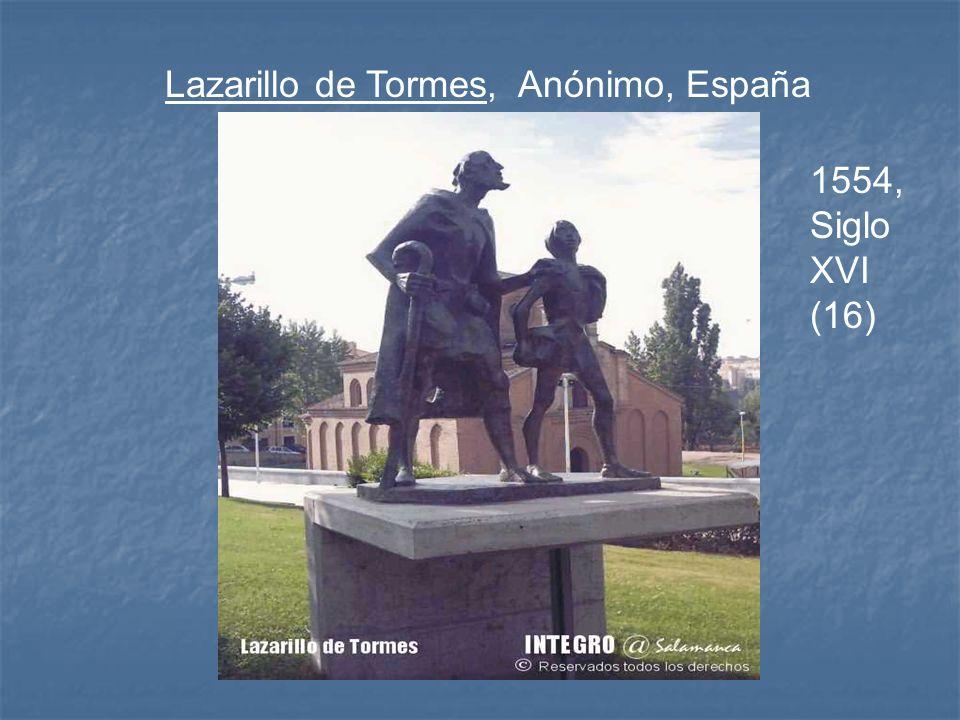 Lazarillo de Tormes, Anónimo, España