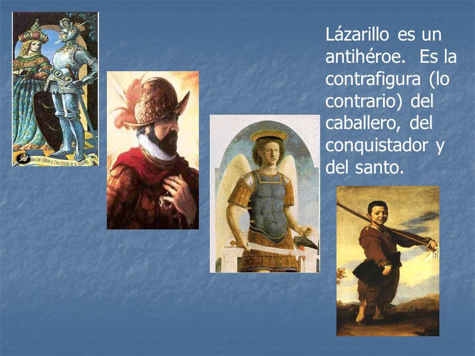 Lázarillo es un antihéroe