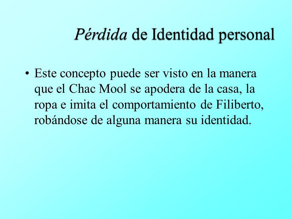 Pérdida de Identidad personal